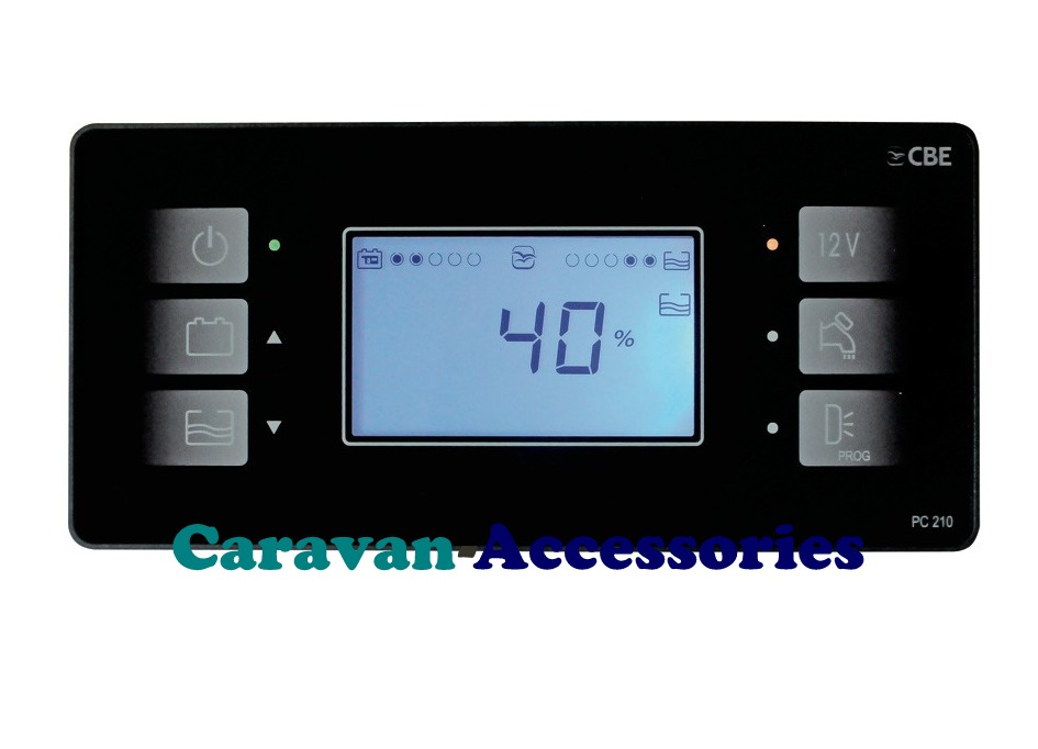 CBE PC210 Charge & Control System For Caravans, Motorhomes & Trucks Install