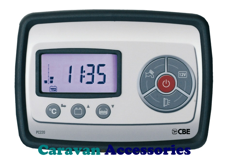CBE PC220 Charge & Control System For Caravans, Motorhomes & Trucks Install
