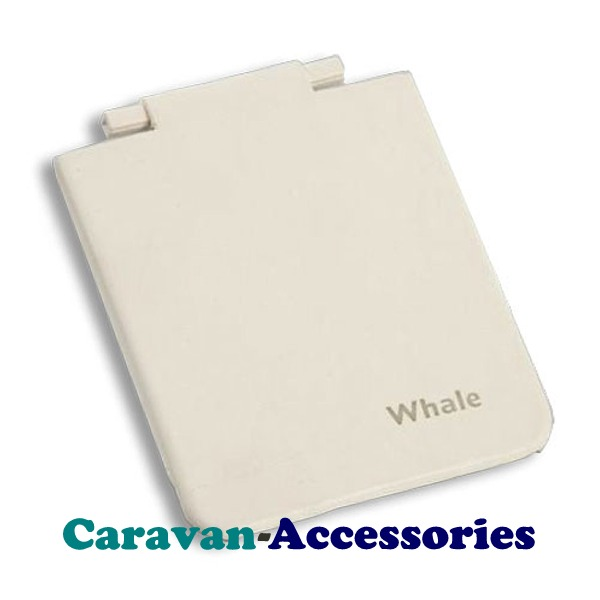 Whale Spare AK1400 Watermaster Socket Flap Down Cover Ivory WAK1400