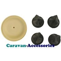 Whale Spare AK1557 Service Kit For Gulper Toilet Pump Diaphragms, Fixings & Valves WAK1557