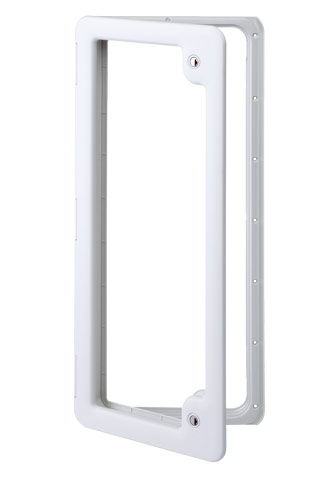 Thetford Service Door 5 Ideal for Water Tanks or Luggage Compartments (WHIT