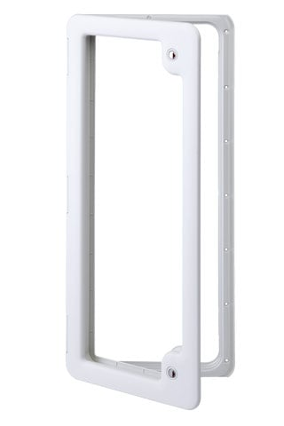 Thetford Service Door 5 Ideal for Water Tanks or Luggage Compartments (WHITE) TLTD5W