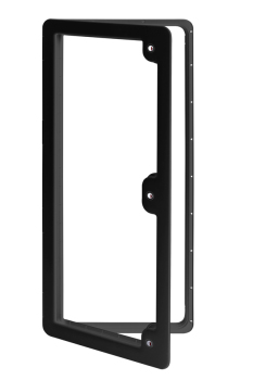 Thetford Service Door 6 Ideal for Large Objects or Luggage Compartments (BLACK) TLTD6K