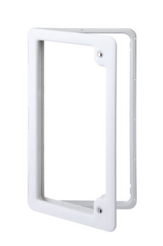 Thetford Service Door 4 Ideal for Gas or Water Tanks (LIGHT GREY) TLTD4LG