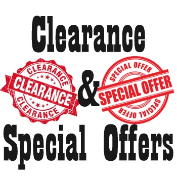 <!--007-->Clearance & Special Offers