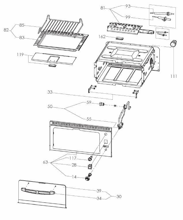 VN555 - Mini Grill Unit (9103303637)