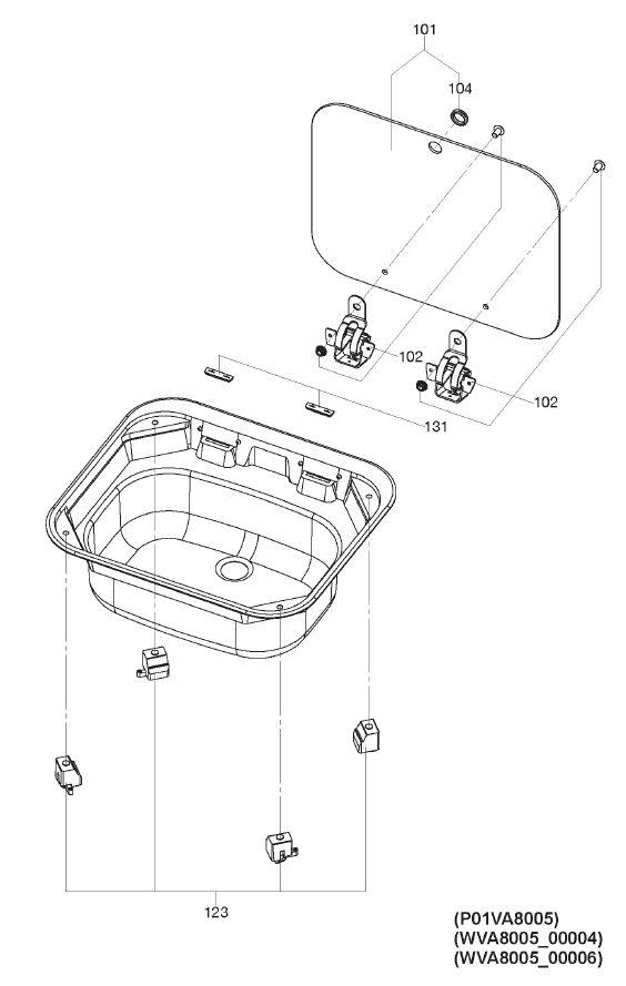 VA8005 - Sink Unit