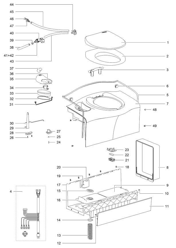 Thetford Cassette Toilets