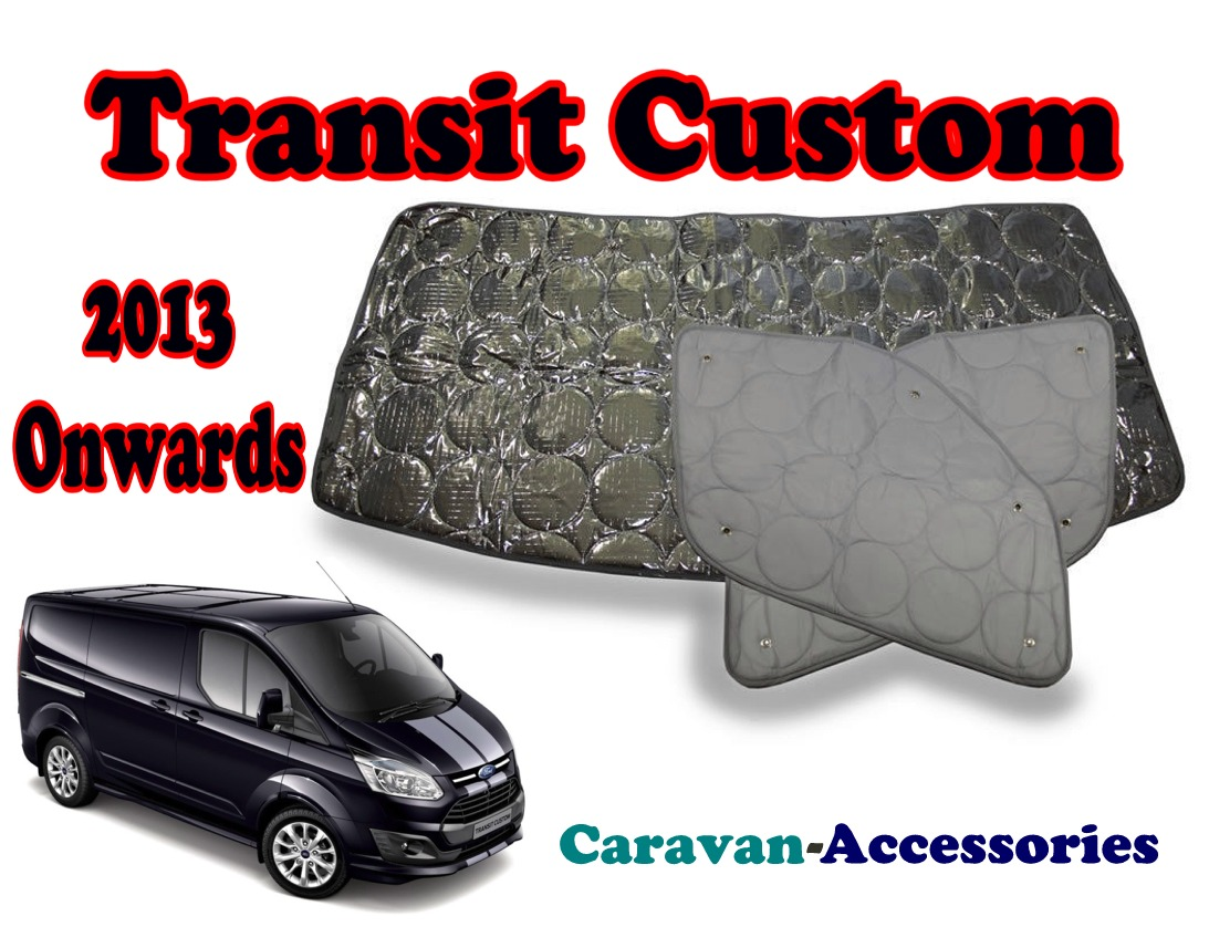 BX273 Ford Transit Custom (2013-Onwards) 9 Layer Internal Silver Thermal Sc