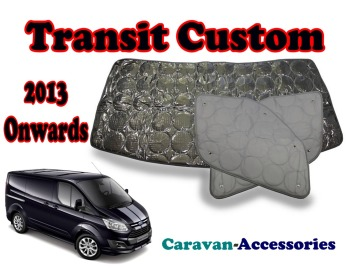 BX273 Ford Transit Custom (2013-Onwards) 9 Layer Internal Silver Thermal Screen