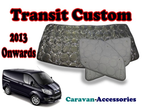 BX273 Ford Transit Custom (2013-Onwards) 9 Layer Internal Silver Thermal Sc