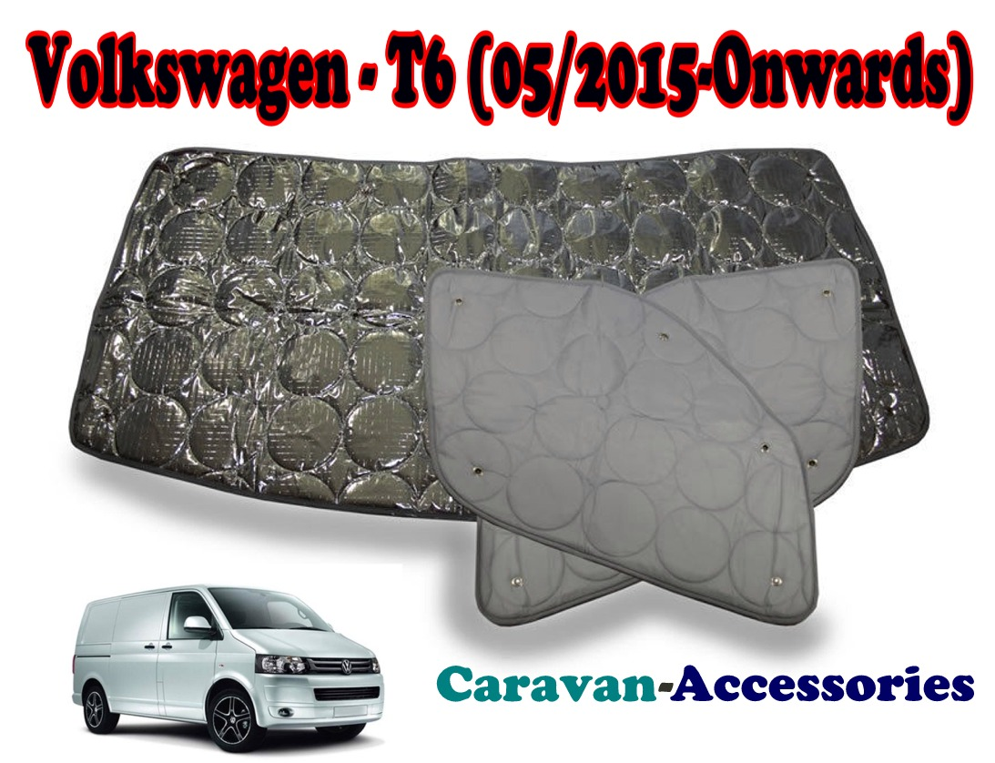 BX284 Volkswagen T6 Transporter (05/2015 - Onwards) 9 Layer Internal Silver