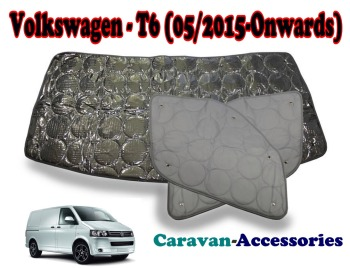 BX284 Volkswagen T6 Transporter (05/2015 - Onwards) 9 Layer Internal Silver Thermal Screen