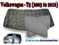 BX131 Volkswagen T5 Transporter (2003 - 2016) 9 Layer Internal Silver Thermal Screen