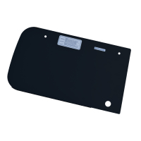 (100) Dometic SMEV Spare MO9222 Replacement Glass Lid for Left Hand Side (Black) (105 31 35-53) (old Codes: 105 31 26-93 / S9222SPBLIDLH)
