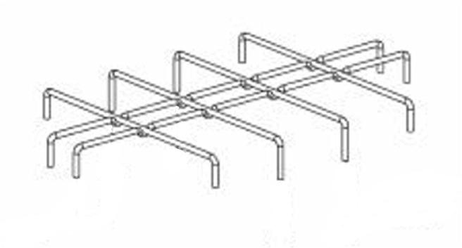 (016) SMEV Spare PI1262 / PI1242 Spare Pan Support Grid (105 31 10-17)