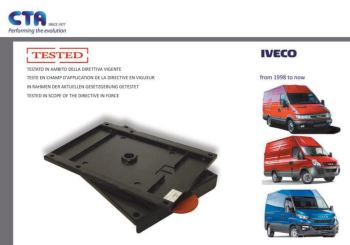 SWV15CT CTA Seat Swivel for Iveco Daily (1999 ONWARDS)