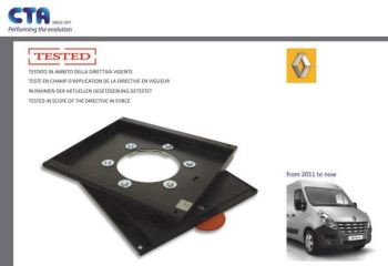 SWV14CT CTA Seat Swivel for Renault Master, Vauxhall Movano & Nissan Interstar (2010 ONWARDS)