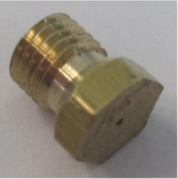 (095) Dometic CRAMER Spare KSK2008 Large Burner Nozzle ONLY (407 144 278)