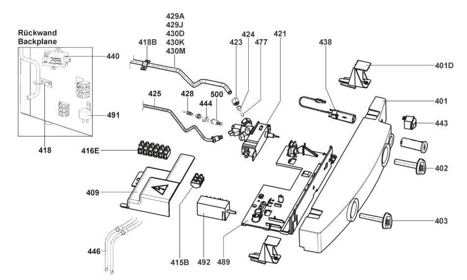 RM85XX Series Fridge Freezer Armature/Fitting