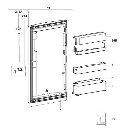 RM85XX Series Fridge Freezer C10-Door