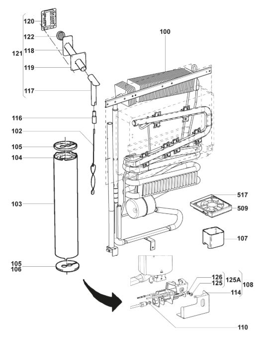RM85XX Series Fridge Freezer Cooling Generator