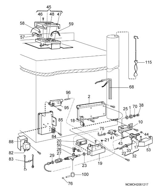 RM75XX Fridge Freezer Armature & Control