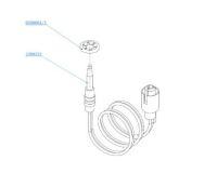 (089) SMEV Spare 450mm Single Wire Thermocouple Complete (105 31 03-12)