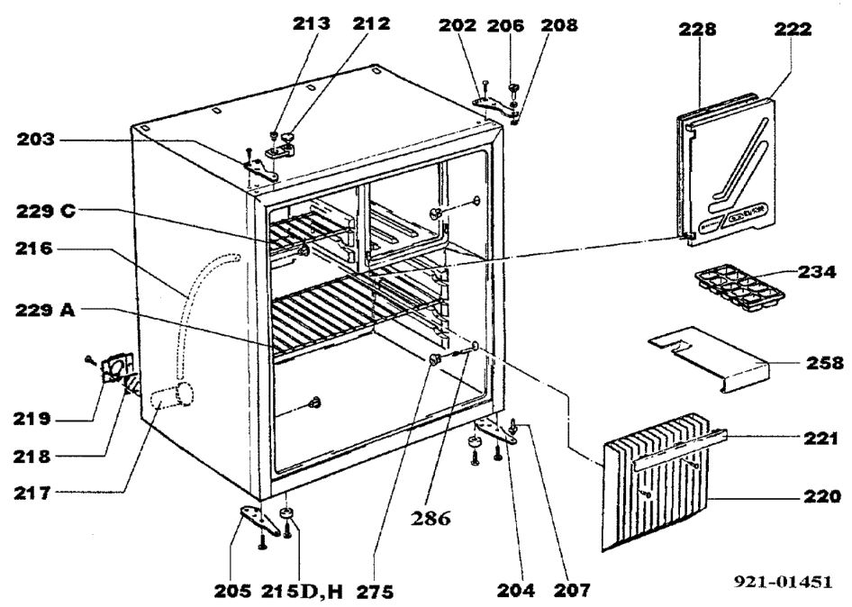 electrolux_rm4200_fridge_freezer_c20_cabinet