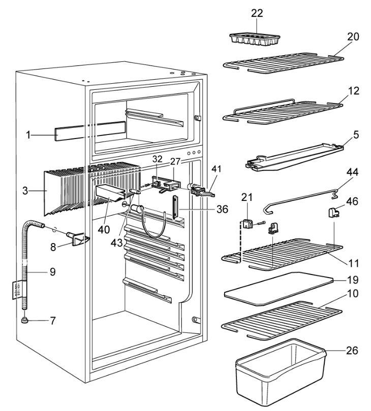 rm6501 fridge freezer  pnc  921179250