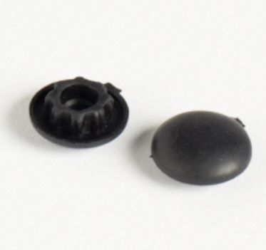 Dometic SMEV Spare Rubber Screw Cover Black (4 Pack) (SMEVSCREWCOVER-4)