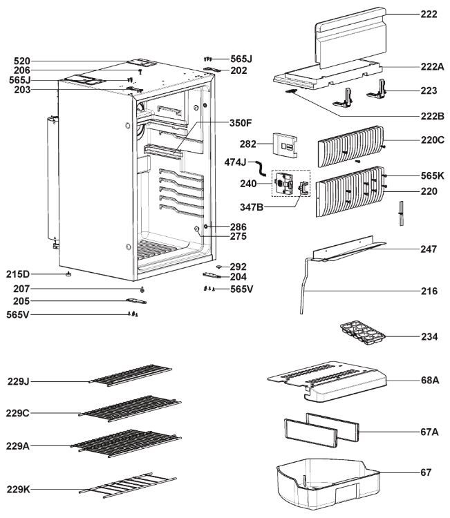 RM8400 Series Main Housing