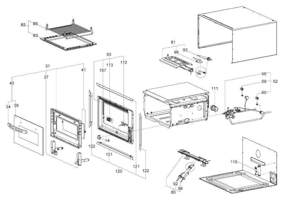 FO211 20 Litre Oven Unit (9102301726)