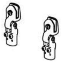(03) Thetford Spare SCU3530XX Pair of Hinges For Glass Lids (2pcs) (SSPA0010)