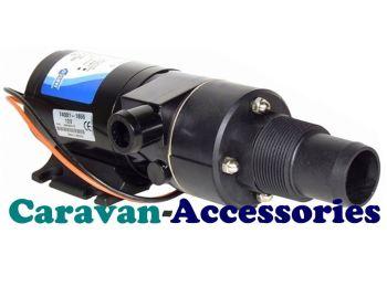 JM18590-2094 JABSCO Run-Dry Macerator Waste Pump - 24 Volt - 12GPM - 45LPM