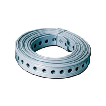 CAK Tanks Spare Universal Strapping Rubber Coated Punched Stainless Steel Banding (UTS)