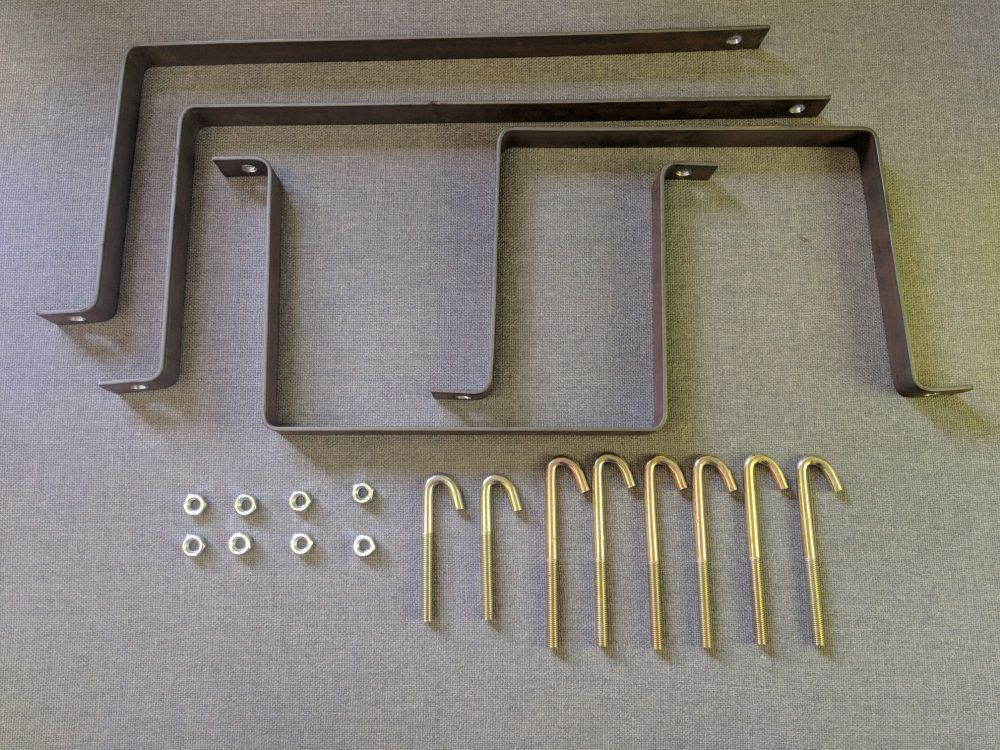 C.A.K. Tanks Replacement Brackets for Sprinter Crafter (06 to 16) Fresh & W