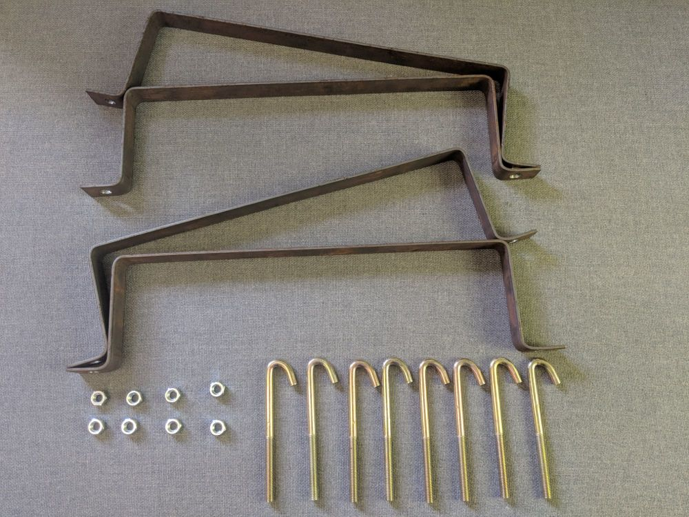 C.A.K. Tanks Replacement Brackets For X250/290 Ducato, Boxer & Relay Fresh