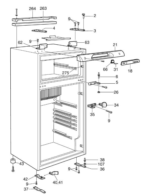 RM6505 C20 Cabinet