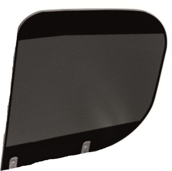 (101) Dometic Spare HSG 3436 Glass Lid For Sink Side of Unit [Colour: Black Bi-Colour] (105 31 30-62)