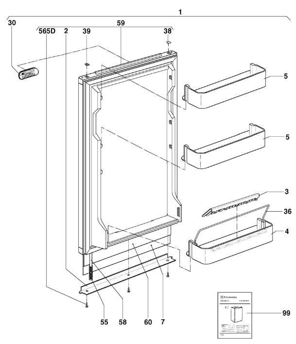RM4281 C10 Door