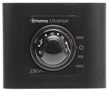 (008B) Truma Spare Ultraheat Heater Wall Control Dial [Colour: Black] (30030-47100)