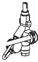 (055) Dometic SMEV Spare PI1242 & PI1262 Gas Regulator Valve For Grill Complete (105 31 18-26)
