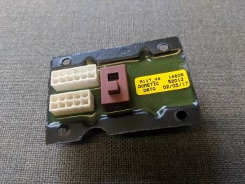 (022) Dometic Spare TEC29 Connection Box Operating Panel Outer (386 52 00-17)