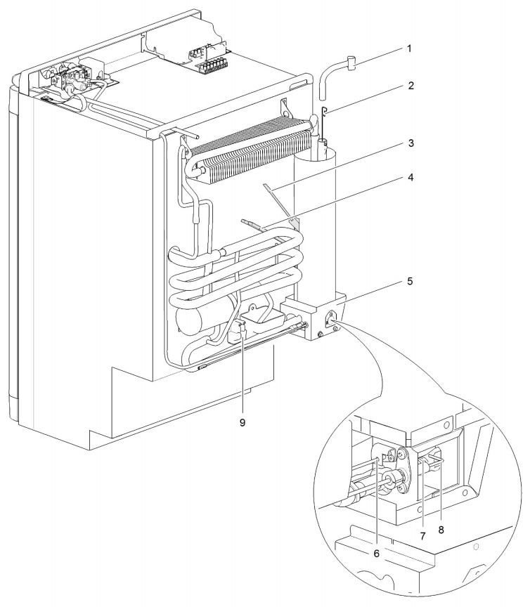 N97 Gas Assembly
