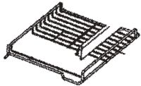 (047) Dometic WAECO Spare CR(X)-80 Main Fridge Shelf Grating [Colour: White] (4450 00 28-84)