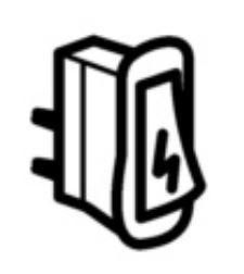(006B) THETFORD Spinflo Spare Duplex Rectangular 12 Volt Ignition Switch (SSPA0381)