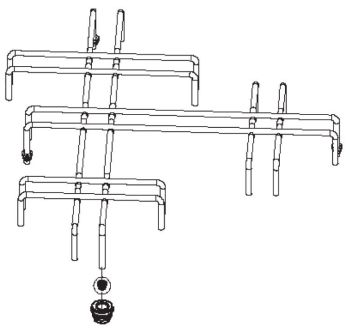 (016) Dometic SMEV Spare MO8303 & MO8323 Pan Support Grid [Colour: Chrome Plated Steel] (105 31 02-35)