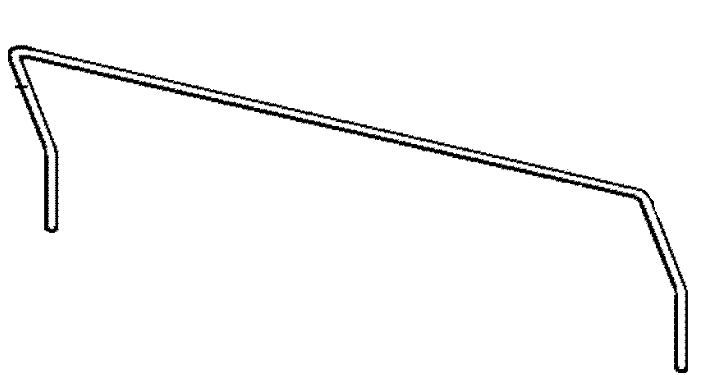 (015) Dometic Electrolux Spare RM6505 Lower Door Bin Bottle Retaining Wire