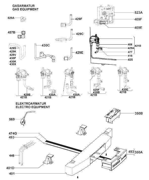 RMF8505 Armature & Gas Assembly